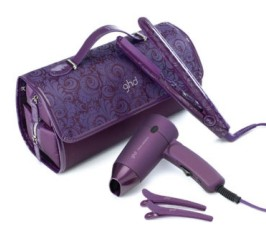 ghd purple styler